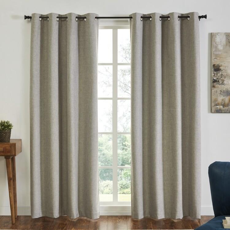 KOO Tuscany Blockout Eyelet Curtains