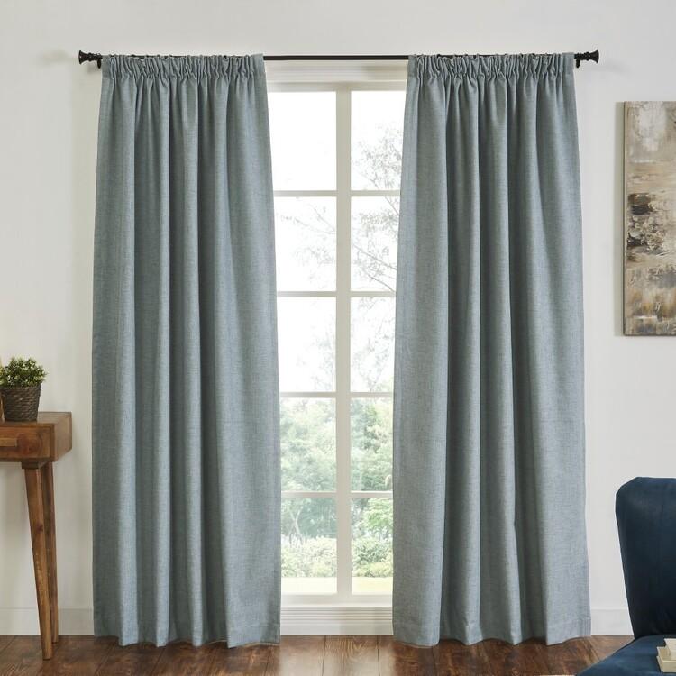 KOO Tuscany Blockout Pencil Pleat Curtains