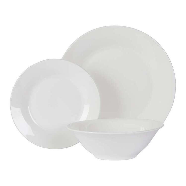 Mode Home 12 Piece Dinner Set White