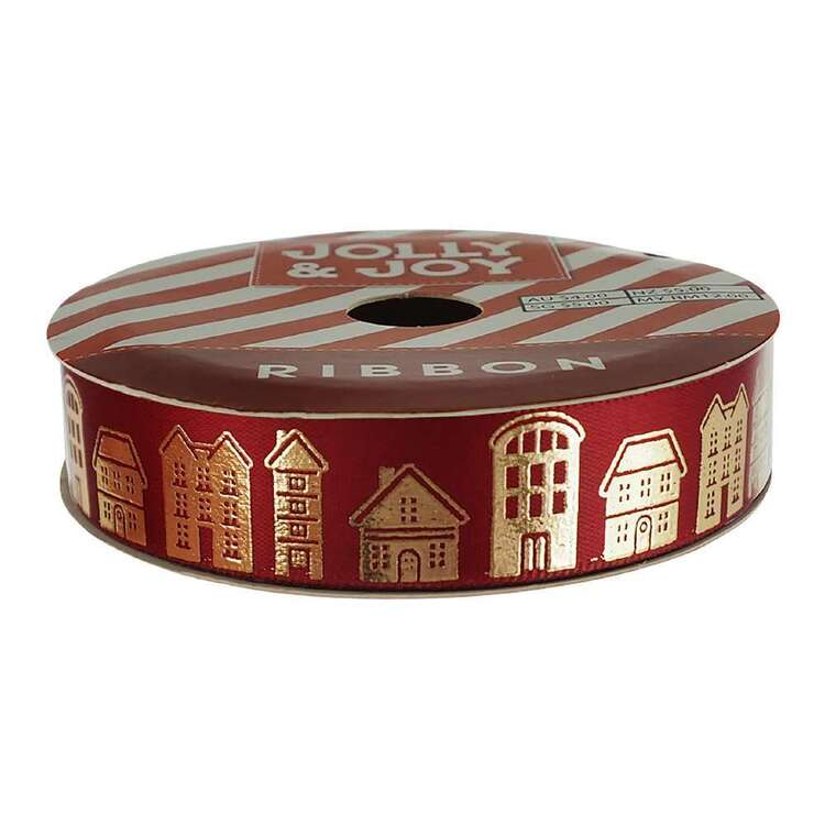 Jolly & Joy Town Satin Ribbon