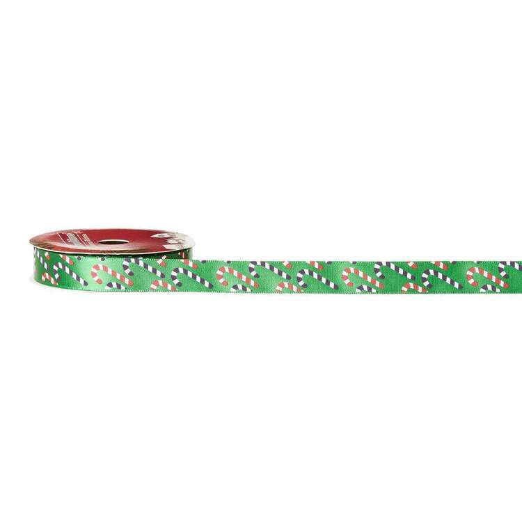 Candy Traditional Christmas Ribbon