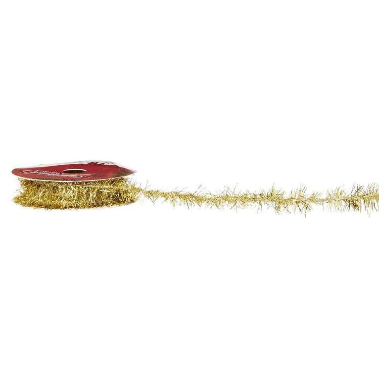 Tinsel Traditional Christmas Ribbon