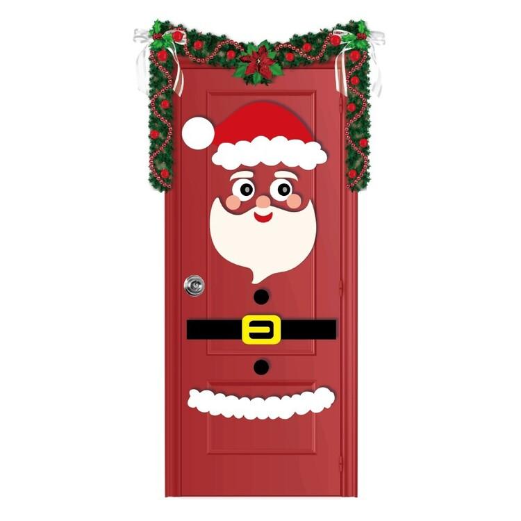 Jolly & Joy Santa Felt Door Dress Up