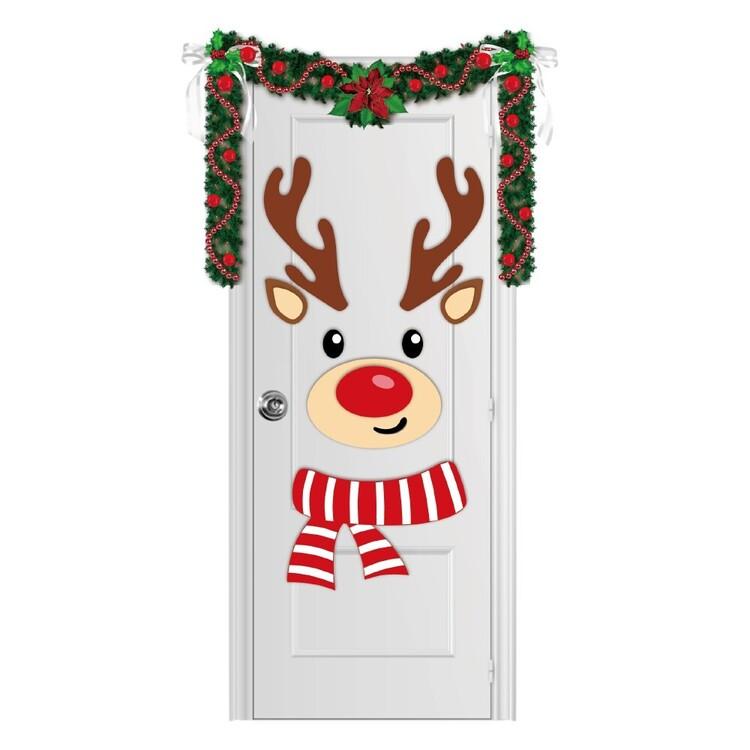 Jolly & Joy Reindeer Felt Door Dress Up