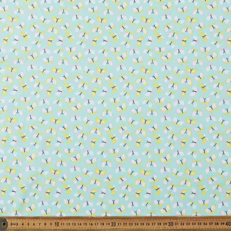 Mix n Match Flutter Frenzy Printed 112 cm Poly Cotton Fabric