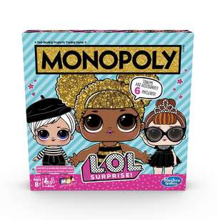 Monopoly Lol Surprise Board Game
