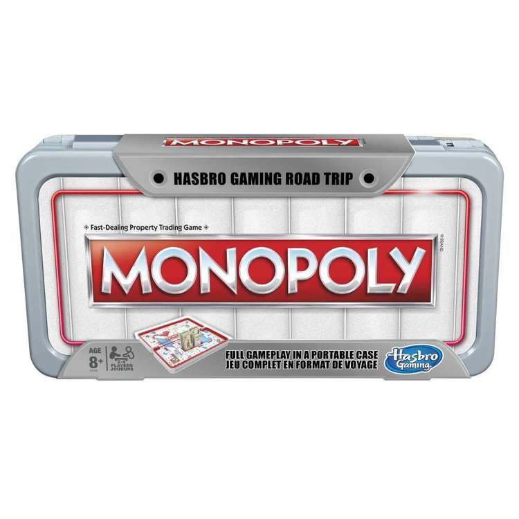 Monopoly Road Trip Board Game