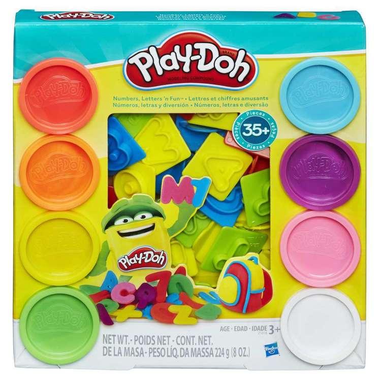 Playdoh Numbers Letters N Fun