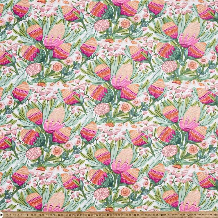 Kirsten Katz Weatherproof Gum Blossoms Fabric