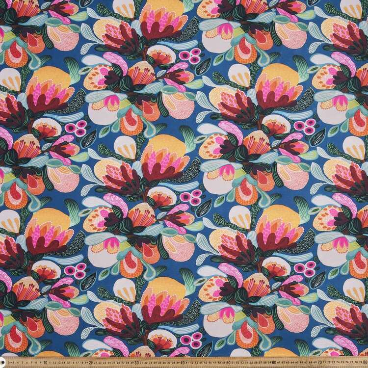 Kirsten Katz Weatherproof Bush Flora Fabric