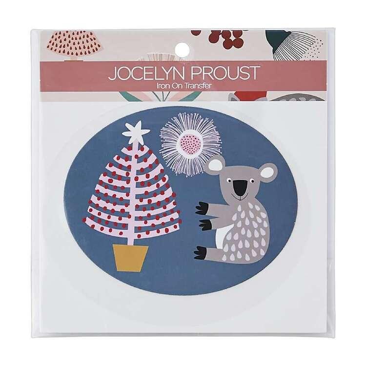 Jocelyn Proust Christmas Tree Koalas Iron On Transfer