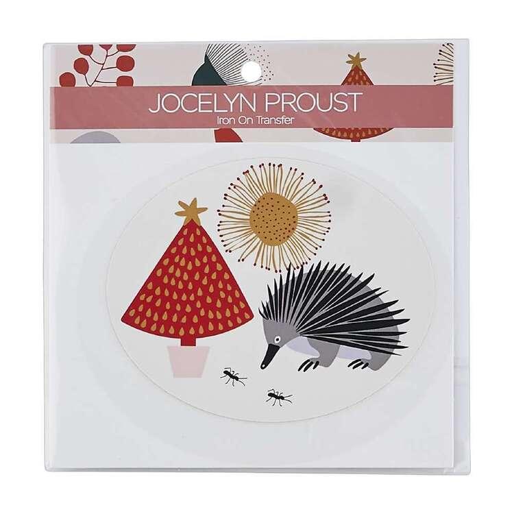 Jocelyn Proust Christmas Tree Echidna Iron On Transfer
