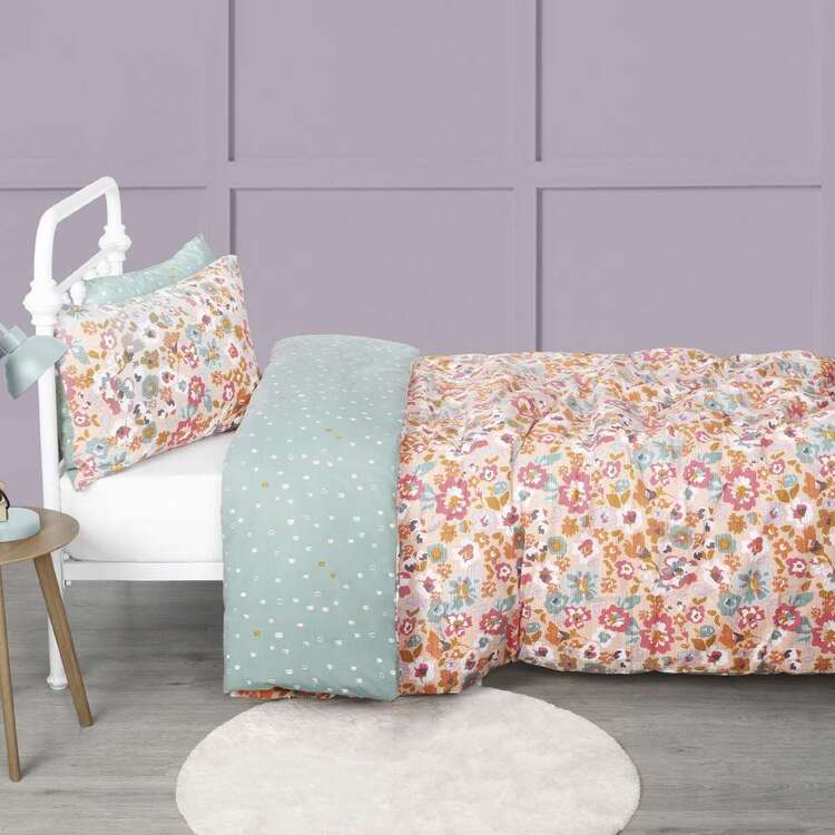 KOO Kids Gypsy Floral Quilt Cover Set