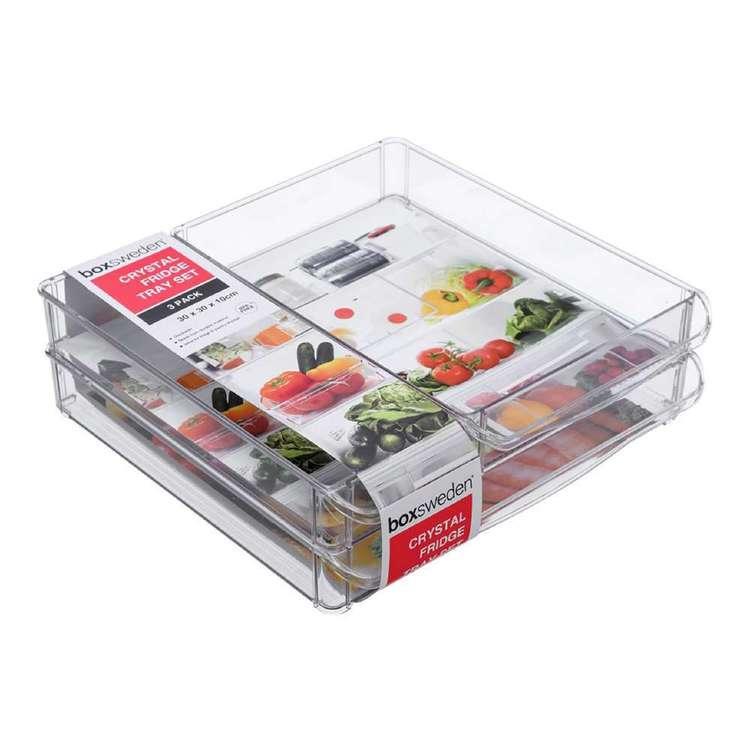 Boxsweden Crystal 3 Piece Storage Tray #1