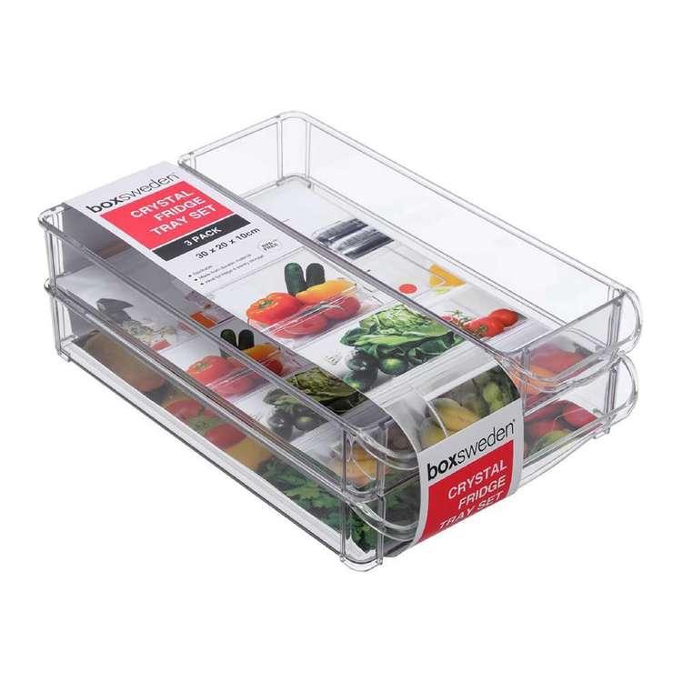 Boxsweden Crystal 3 Piece Storage Tray #2