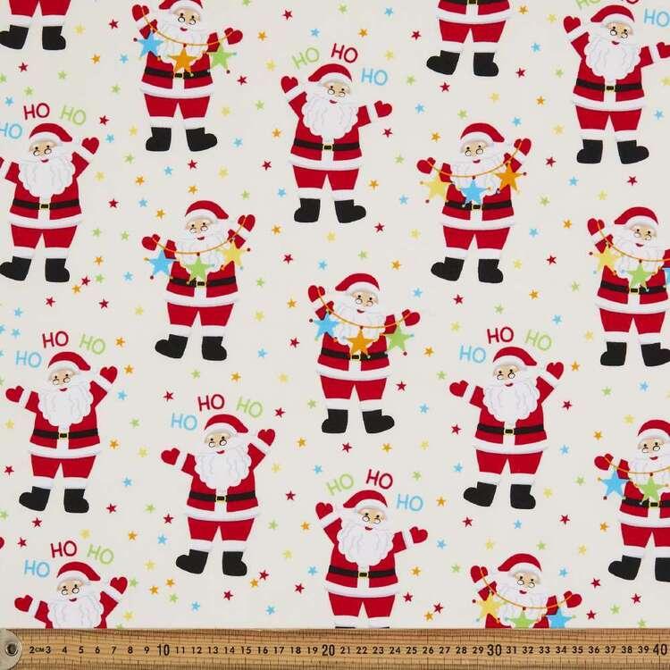 Sugar & Spice Santa Ho Ho Cotton Fabric