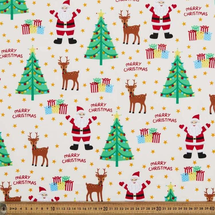 Sugar & Spice Santa Merry Cotton Fabric