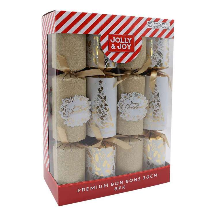 Jolly & Joy Gold Bon Bons 8 Pack