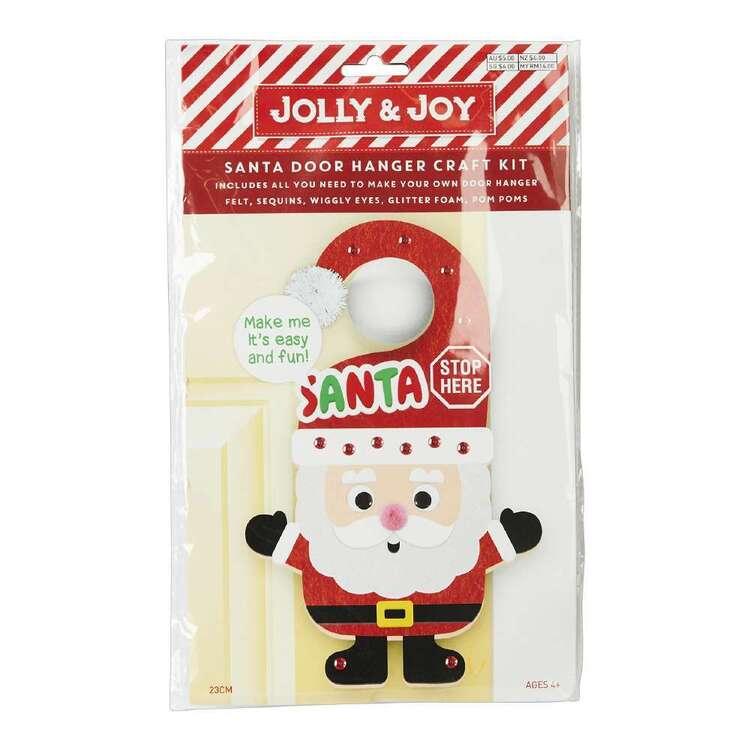 Jolly & Joy Santa Door Hanger Craft Kit