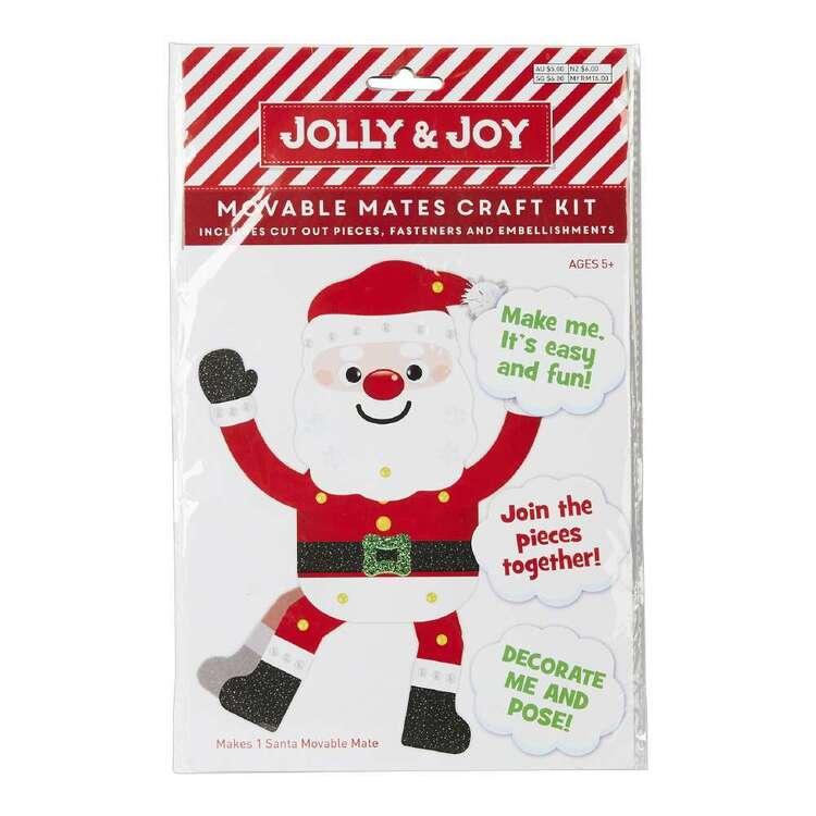 Jolly & Joy Santa Movable Mates Craft Kit