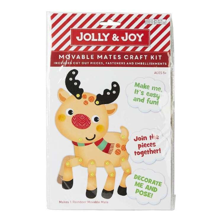 Jolly & Joy Reindeer Movable Mates Craft Kit
