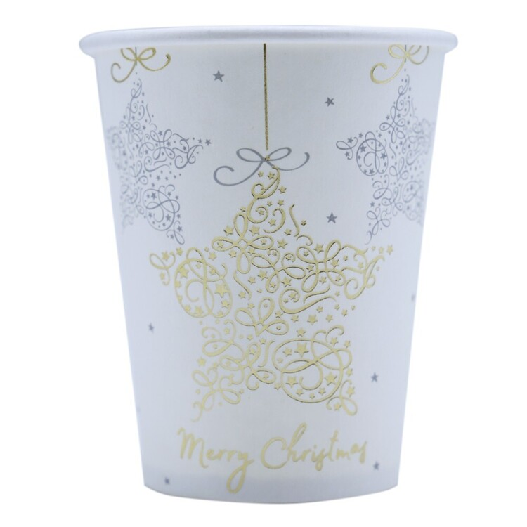 Jolly & Joy Star Paper Cups 10 Pack