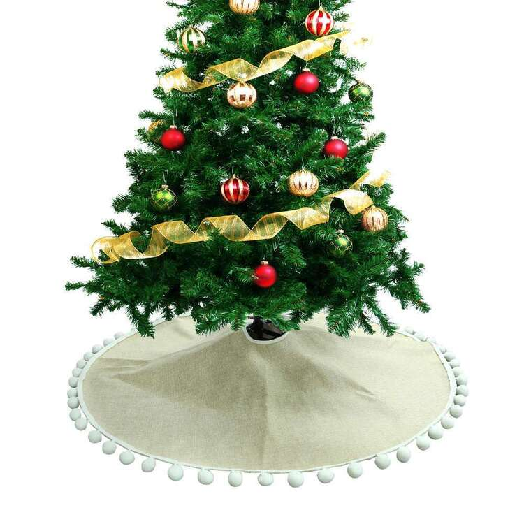 Jolly & Joy Pom Pom Tree Skirt