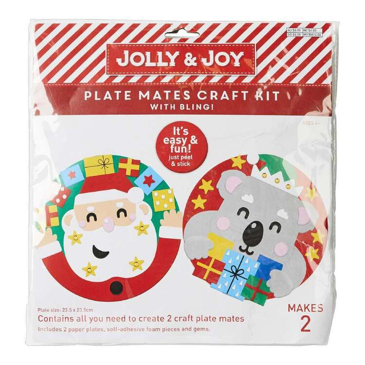 Jolly & Joy Plate Mates Craft Kit