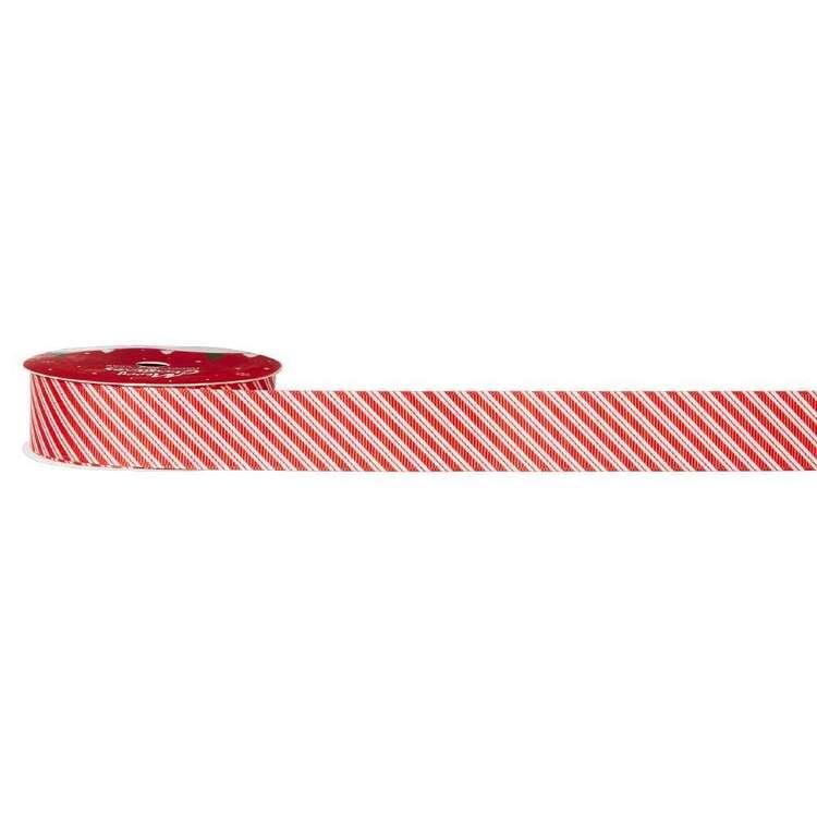 Stripe Traditional Christmas Ribbon