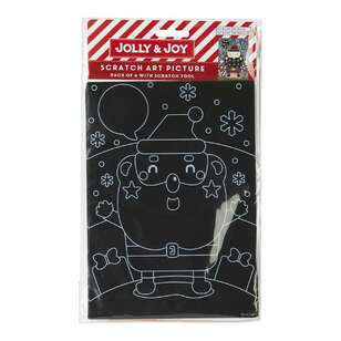 Jolly & Joy Christmas Scratch Art Picture 4 Pack