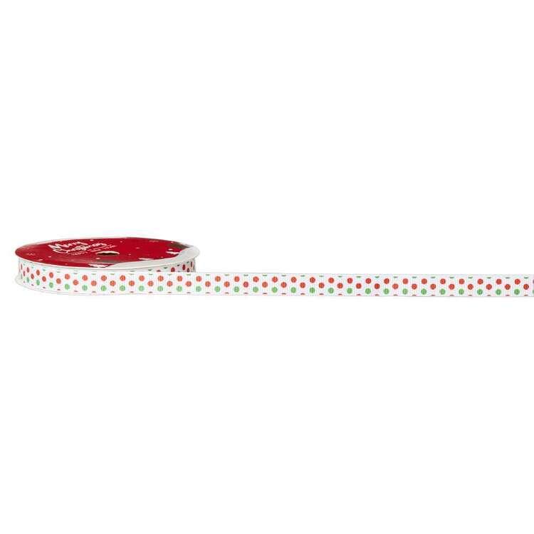 Dots Traditional Christmas Ribbon # 2