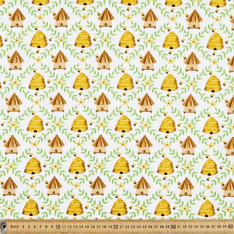 Studio E Home Is Where Your Honey Is Nests Cotton Fabric