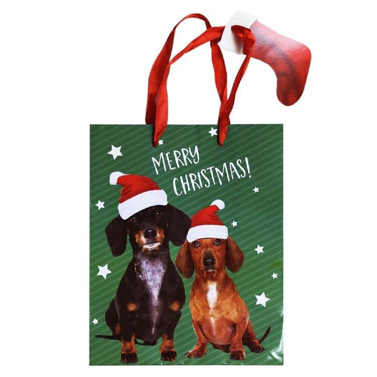 Jolly & Joy Sausage Dog Medium Bag