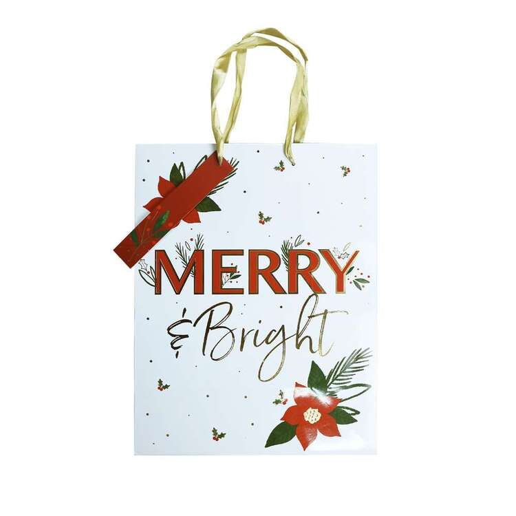 Jolly & Joy Merry & Bright Large Bag