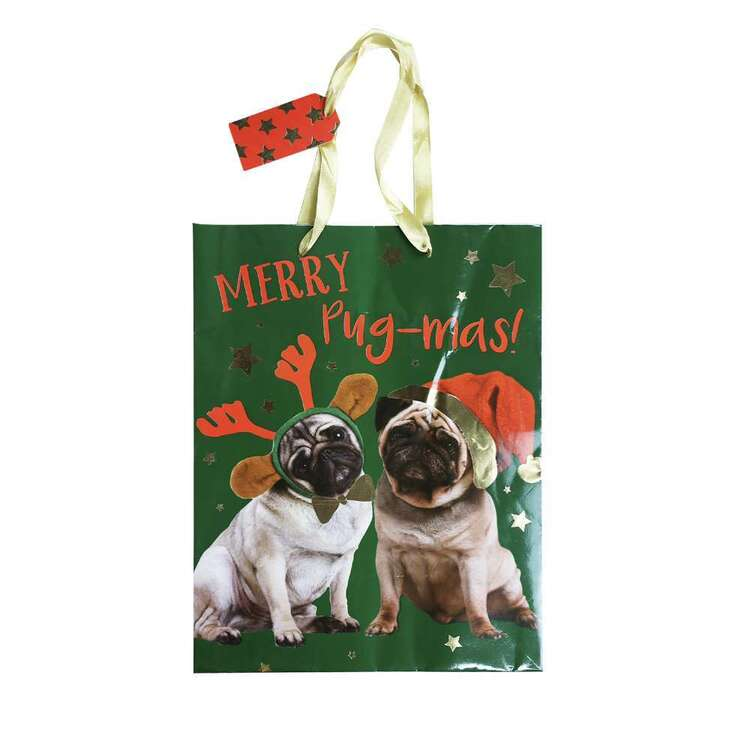 Jolly & Joy Pug Large Bag