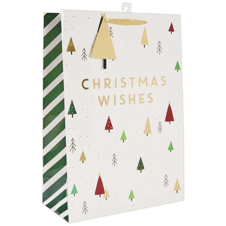 Jolly & Joy Christmas Wishes Extra Large Bag