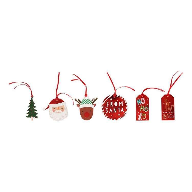 Jolly & Joy From Santa Gift Tags 12 Pack