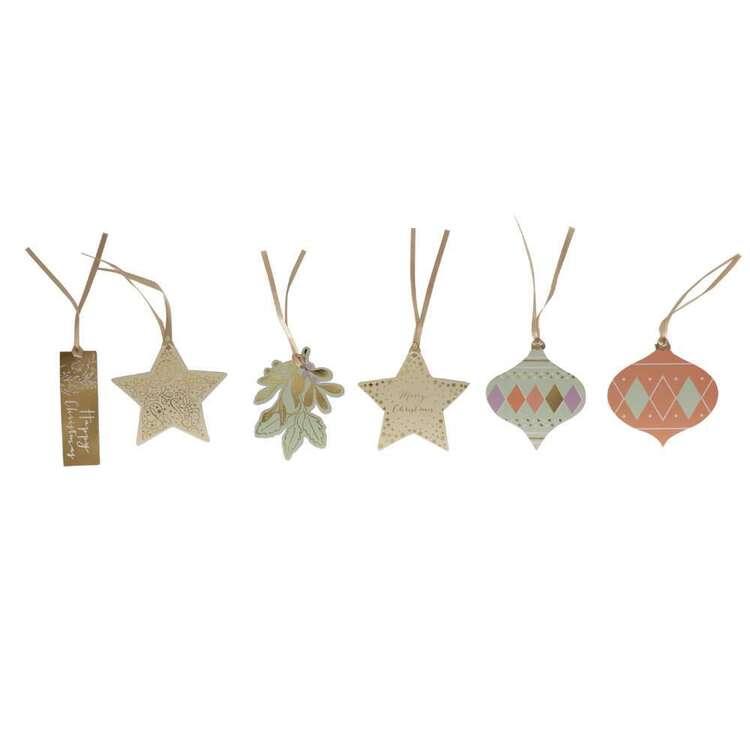 Jolly & Joy Shining Star Gift Tags 12 Pack