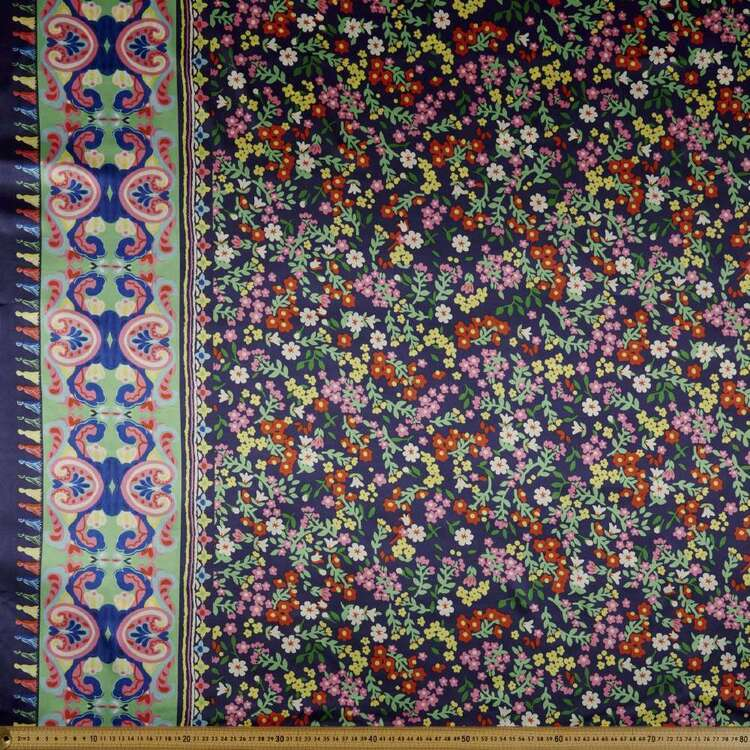 #2 Deluxe Printed Satin Fabric