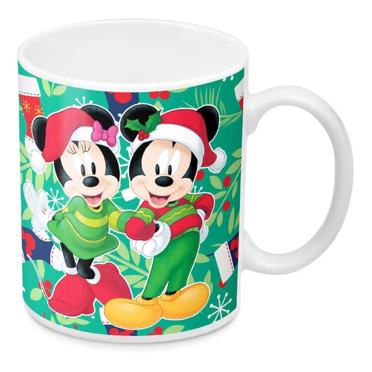 Disney Mickey Minnie Christmas Mug