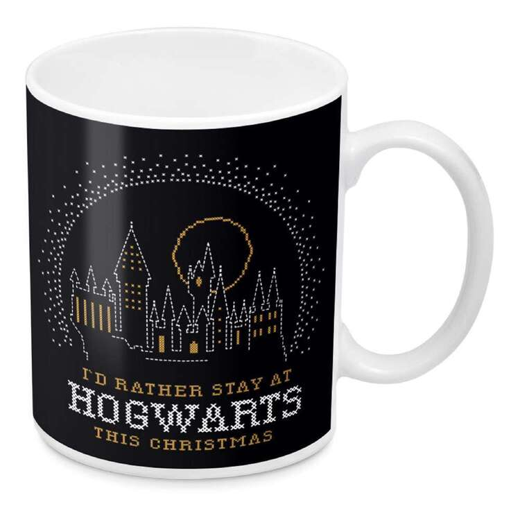 Harry Potter Hogwarts Christmas Mug