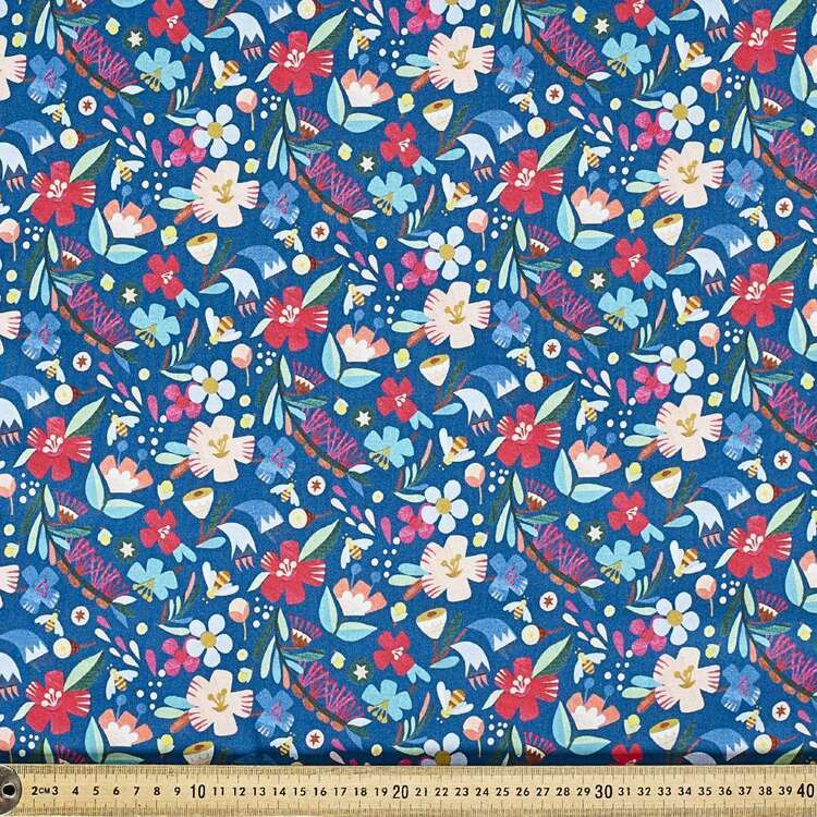 Andrea Smith Flora Cotton Fabric