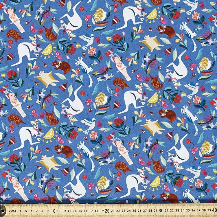 Andrea Smith Wild Natives Cotton Fabric