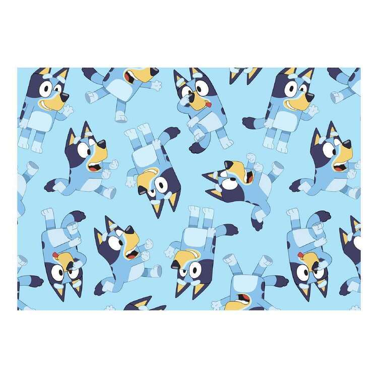 Bluey Allover Cotton Fabric
