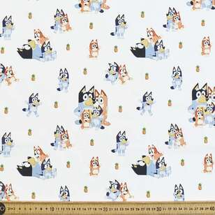 Bluey Family Fun Cotton Fabric