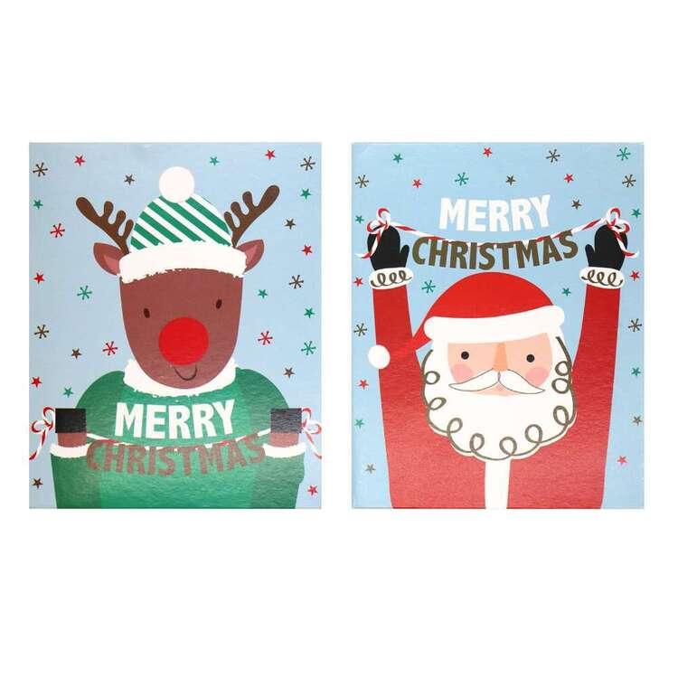 Jolly & Joy Small Santa Cards 25 Pack