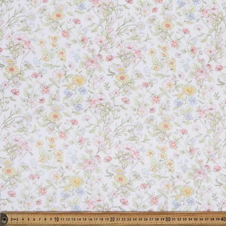 Sunny Days Printed 138 cm Muslin Fabric