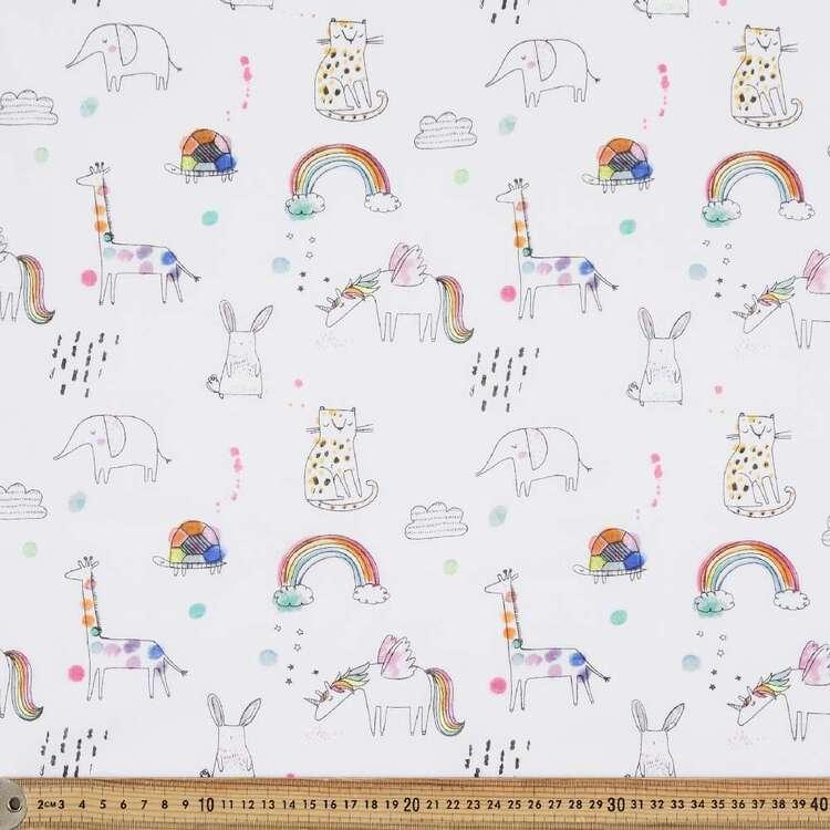Together Again Printed 138 cm Muslin Fabric