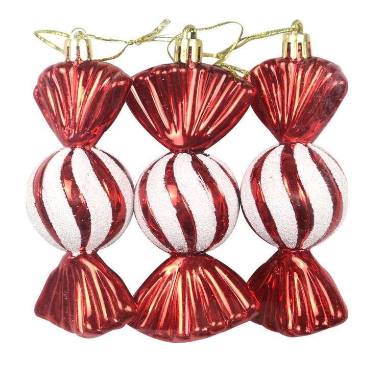 Jolly & Joy Candy Decorations 3 Pack