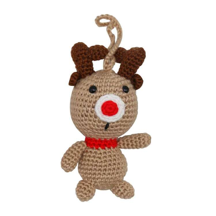 Jolly & Joy Crochet Reindeer